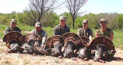 Texas Rio Turkey Hunt